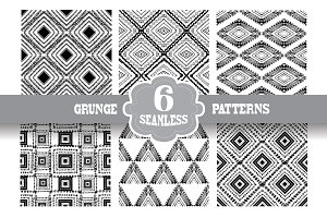 Grunge Seamless Patterns(3)
