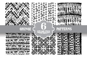 Grunge Seamless Patterns(4)