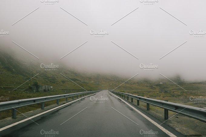 foggy mountain drive no.2 - Nature