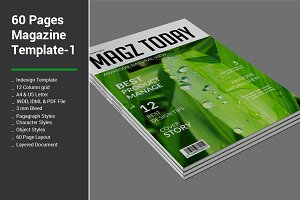 60 Pages Magazine Templates - 1