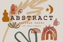 Abstract Collage Maker Bundle