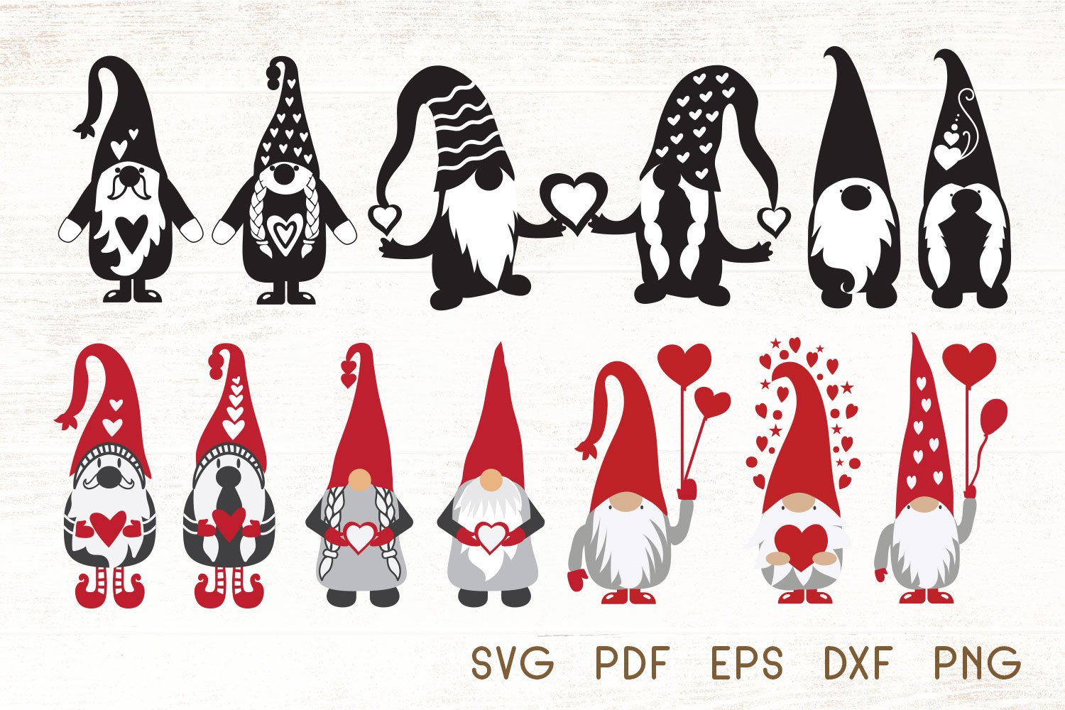 Download 19+ Gnome Valentine Svg Free Background Free SVG files ...