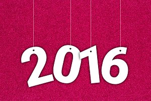 2016 on Texture Background