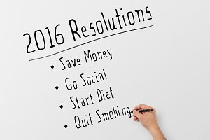 2016 Resolutions points