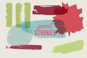 Paint Strokes - Vector