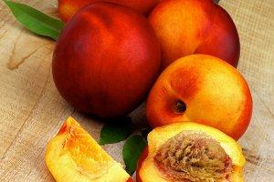 Arrangement of Peaches