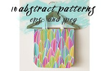 seamless linear abstract pattern