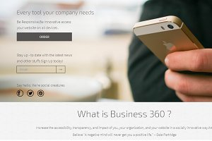 Business-360° :Responsive Template