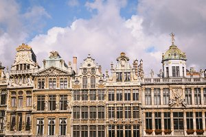 facades of europe - brussels