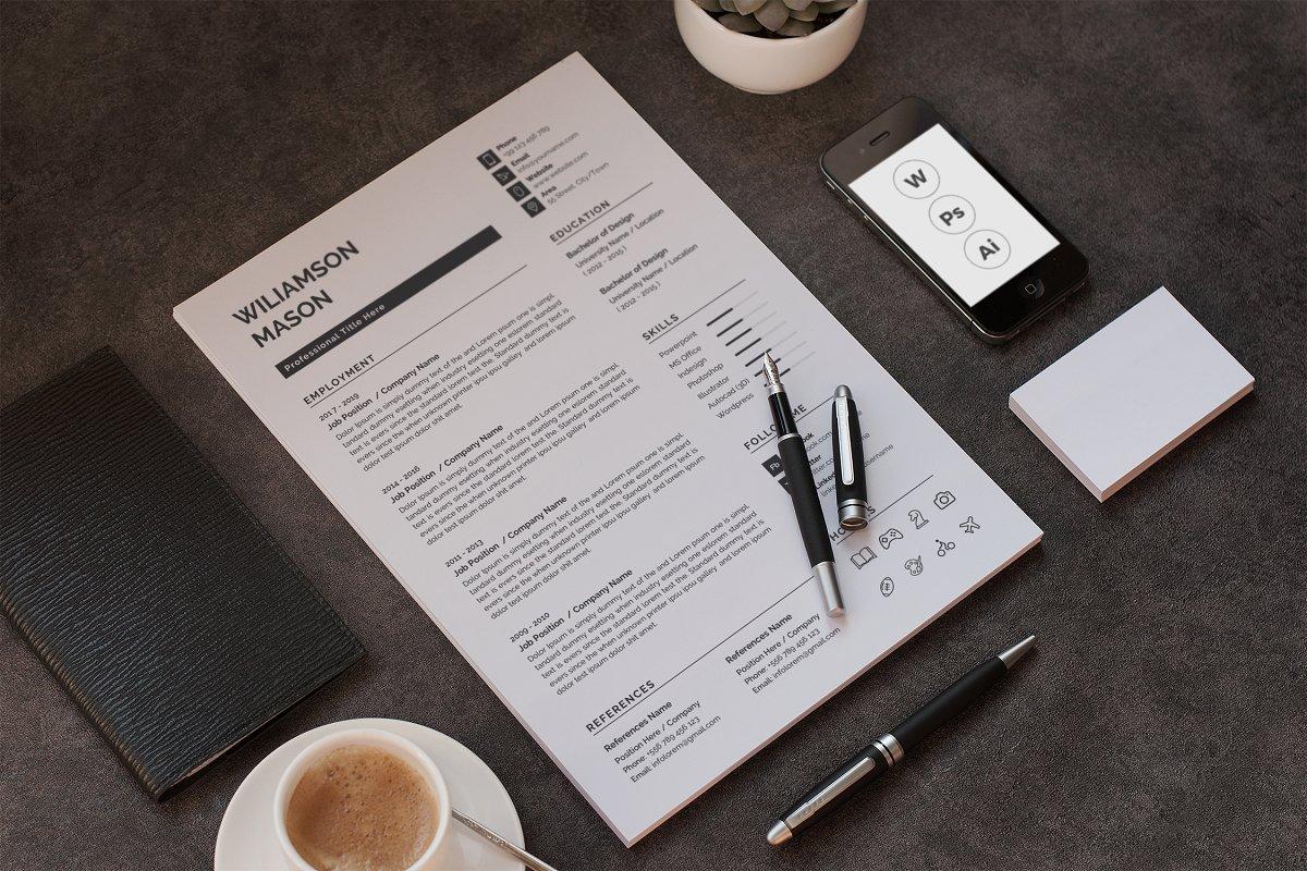 Clean Resume / CV