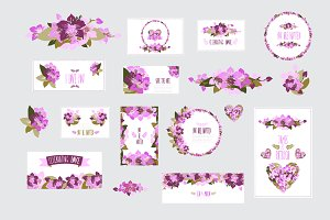 Orchid Floral Cards