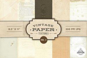 Vintage Paper Textures - No. 4