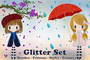 Glitter Set for Photoshop