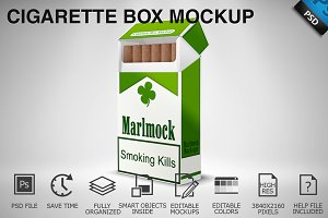 Cigarette Box Mockup 01