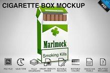 Cigarette Box Mockup 02