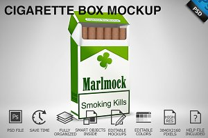 Cigarette Box Mockup 02