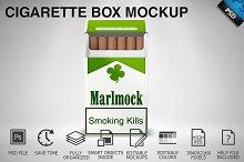 Cigarette Box Mockup 03