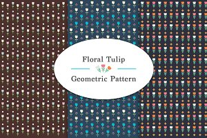 Floral Tulip Patterns