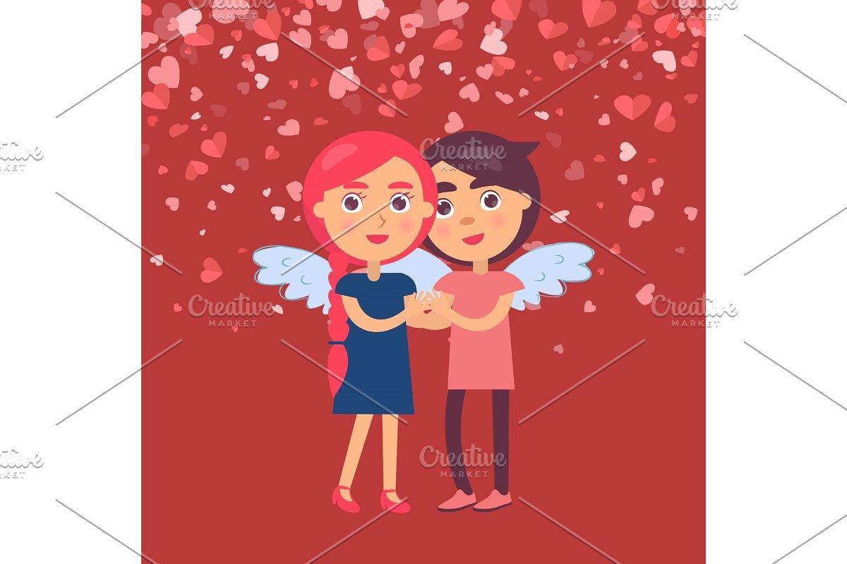 Hugging Boyfriend Girlfriend in