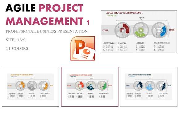 Agile Project Management 1 Ppt Presentation Templates Creative