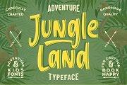 Jungle Land || Kids Typeface