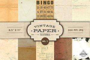 Vintage Paper Textures - No. 7