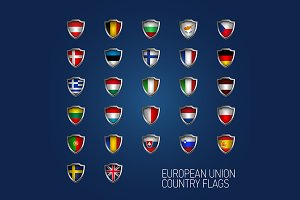 European Union states full flags