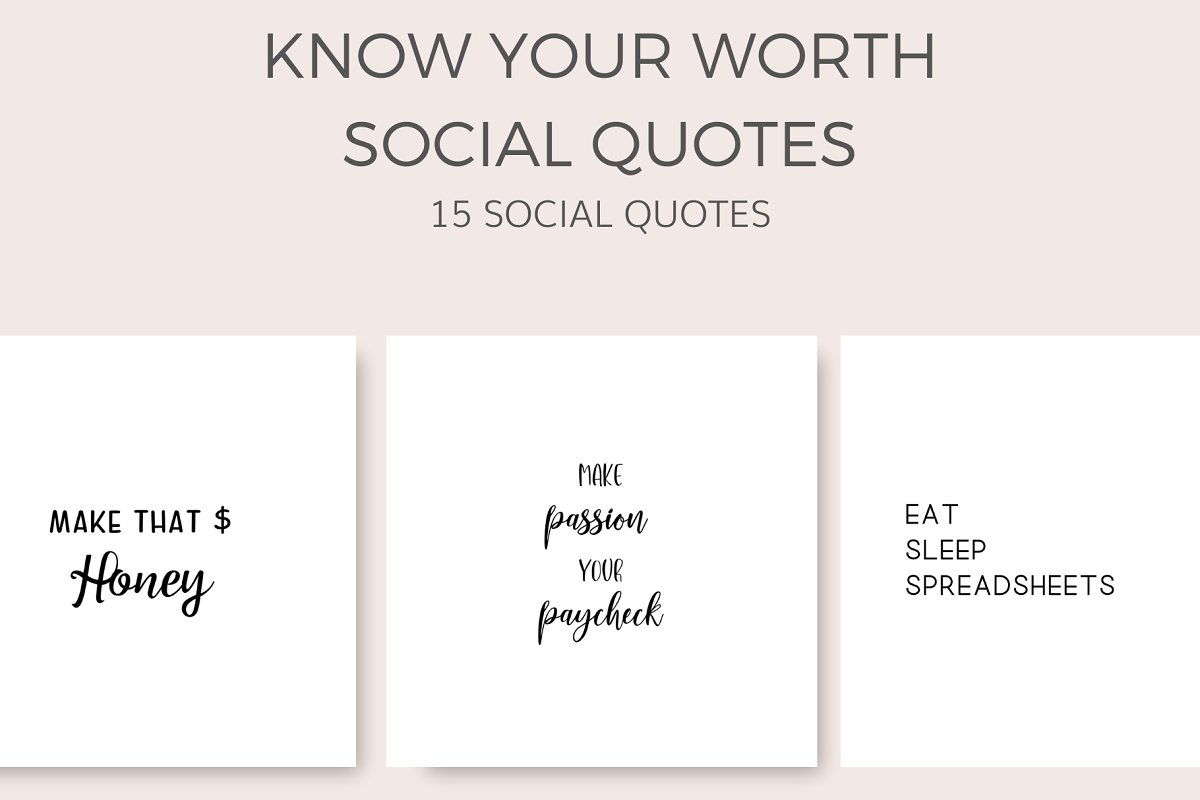 Know Your Worth Quotes (15 Images)