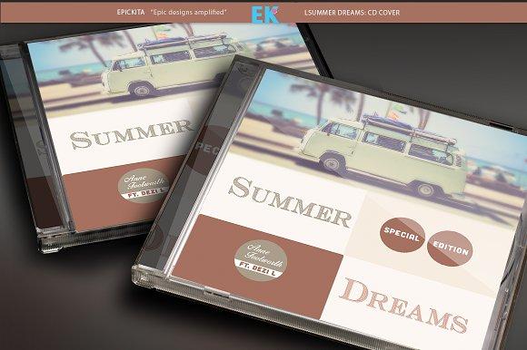 Summer Dreams:CD Artwork Template
