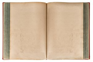 Old book open. Paper texture JPG