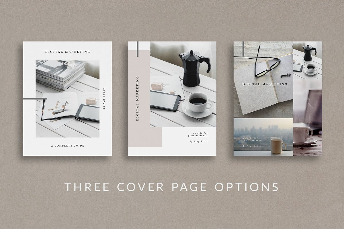 Workbook/eBook Canva Template | Mio in Magazine Templates - product preview 8