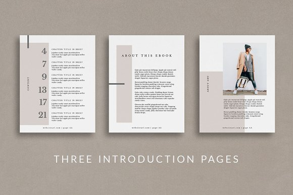 Workbook/eBook Canva Template | Mio in Magazine Templates - product preview 1