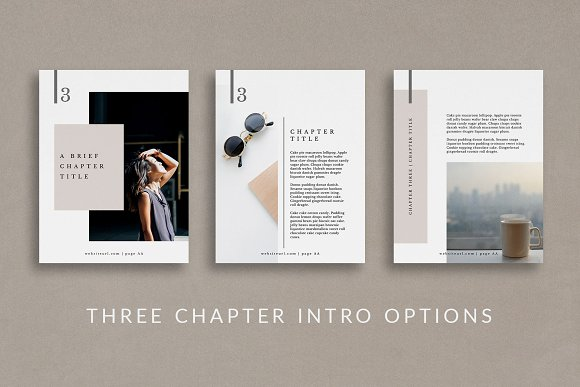 Workbook/eBook Canva Template | Mio in Magazine Templates - product preview 2