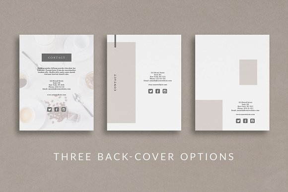 Workbook/eBook Canva Template | Mio in Magazine Templates - product preview 3