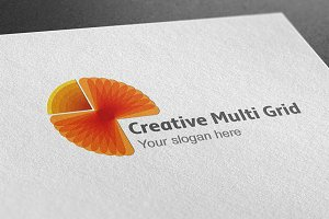 Creative Multi Grid Logo