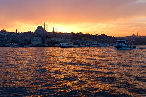 View of center of  Istanbul