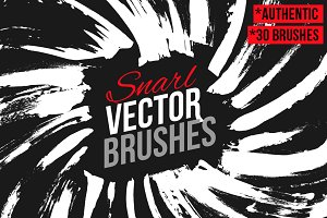 Snarl Vector Brushes