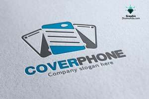 Cover Phone Logo Template