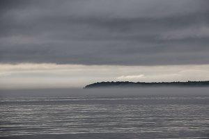 Mist on Lake Superior