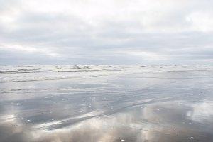 White Sunrise, Pacific Ocean