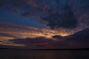 Sunset, Munising, Michigan