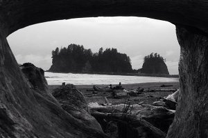 Framed Island, First Beach