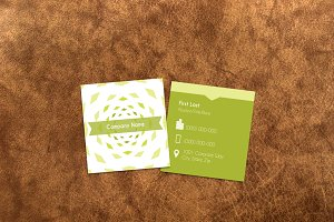 Sharp Business Card Template