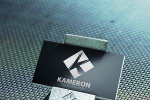 K Letter K Logo