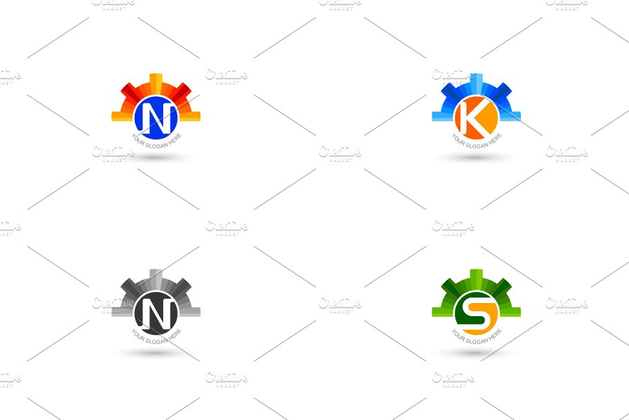 Company Name Logo in Logo Templates - product preview 8