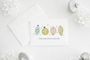 Holiday Card Mockup | landscape