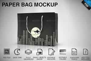 Paper Bag Mockup 01