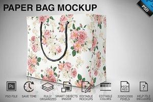 Paper Bag Mockup 03