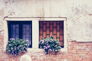 windows of europe - venice