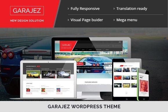 GARAJEZ – WordPress theme